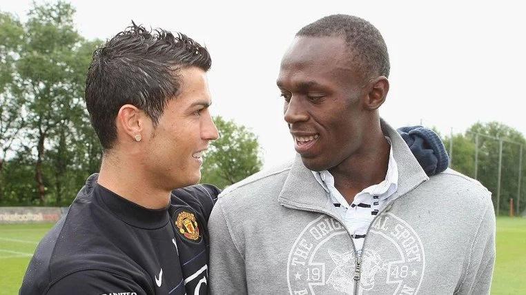 """Usain Bolt es del Real Madrid """"porque está Cristiano Ronaldo"""""""