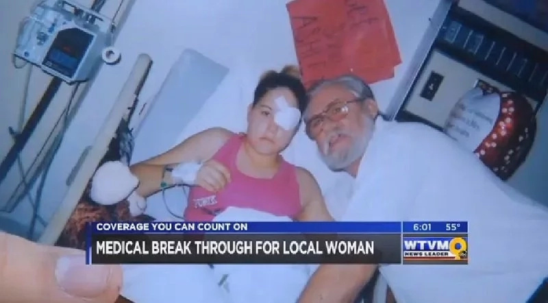Woman felt a small lump protruding from her mouth. But when she tried to pull it out, it turned out to be a stray bullet!