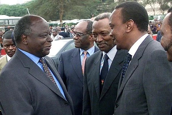 Uhuru: Kibaki only thought about people around him