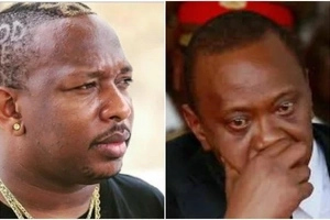President Uhuru's men allegedly threatening to kill Sonko