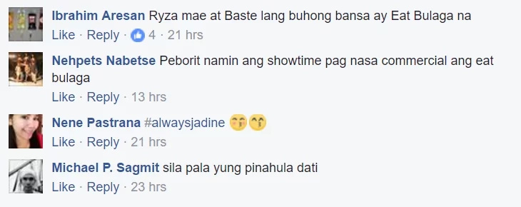 "James and Nadine Joins ""It's Showtime! Check out What Netizens Have to Say"