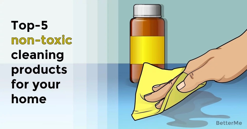 Top-5 non-toxic cleaning products for your home
