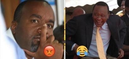 Joho anasumbuka kwa sababu ya Uhuru - Orengo