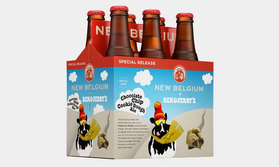Chocolate Chip Cookie Beer is real! We kid you not!