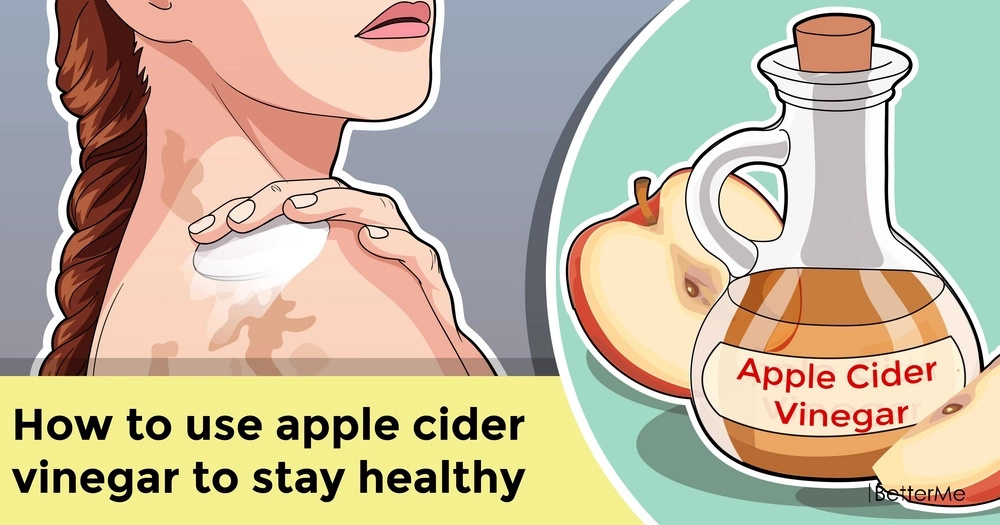How to use apple cider vinegar to stay healthy