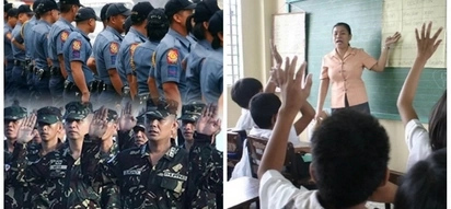 Sa wakas! Pinoy Cops and Soldiers receives 100% hike in their salaries starting January 1, Duterte swears Teachers will be next