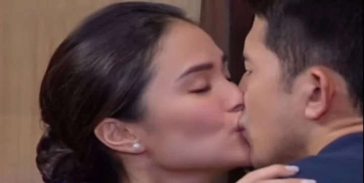 Escudero's fine with Heart Evangelista kissing Dennis Trillo