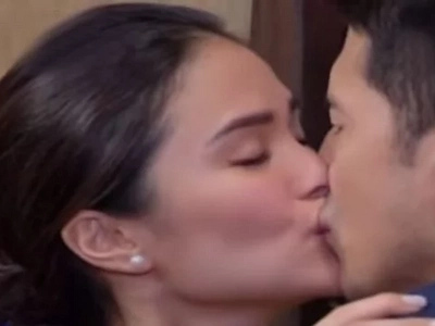 Why Chiz doesn't mind Heart Evangelista's sexy naughty role kissing Dennis Trillo