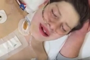 The first words this guy says after returning to life will make you cry hard