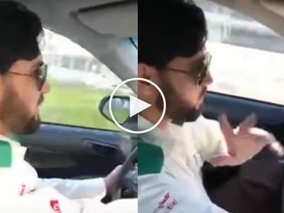 Netizen caught Pakistani taxi driver in Dubai speaking Fluent Tagalog