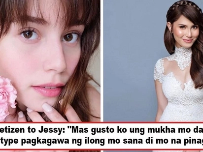 Todo deny si ate! Jessy Mendiola slams accusations she underwent a nose job, but netizens insist there's a distinct difference