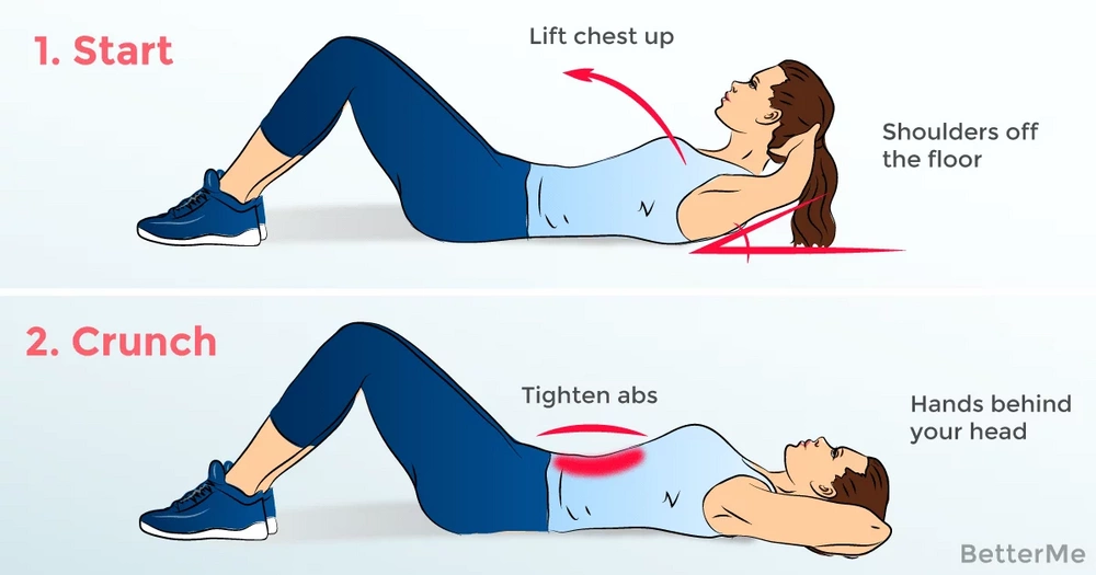 8 exercises that can help you flatten your belly
