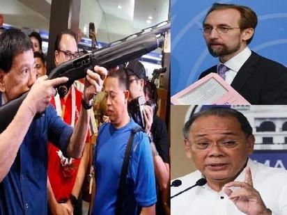 Defiant Malacañang slams UN and defends Duterte's aggressive drug war