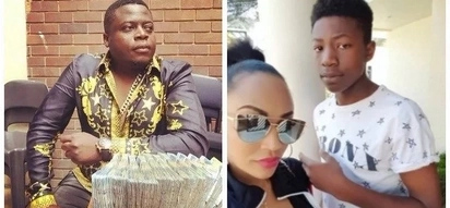 Zari and Ivan's second son flaunts riches just like his late father