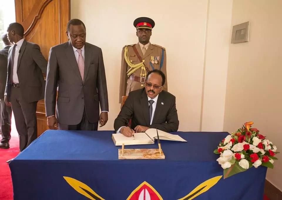 Somali President Mohamed Abdullahi, starts visit to Kenya