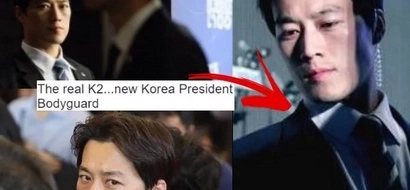 Mga bes, South Korea has a new president's bodyguard!