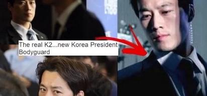 Mga bes, South Korea has a new president's bodyguard!
