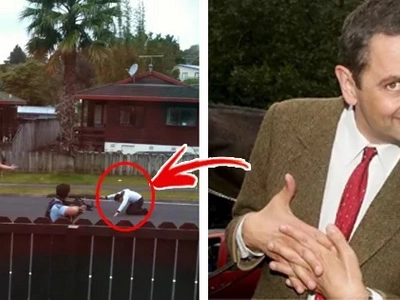"""Nakakatuwa naman 'to! Mr. Bean just got real! Police officer used the """"finger gun"""" tactic in a legit police operation! Did the target concede?"""
