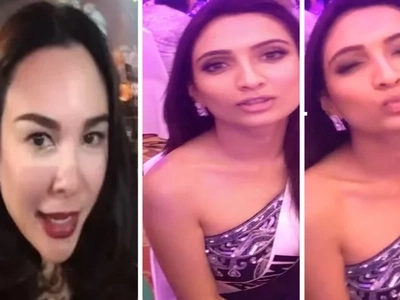 Here is how Miss Universe India answered to jealous Gretchen Barrett