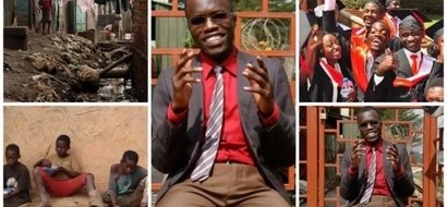Former street urchin defies 'impossible odds' to graduate with FIRST-CLASS from top university
