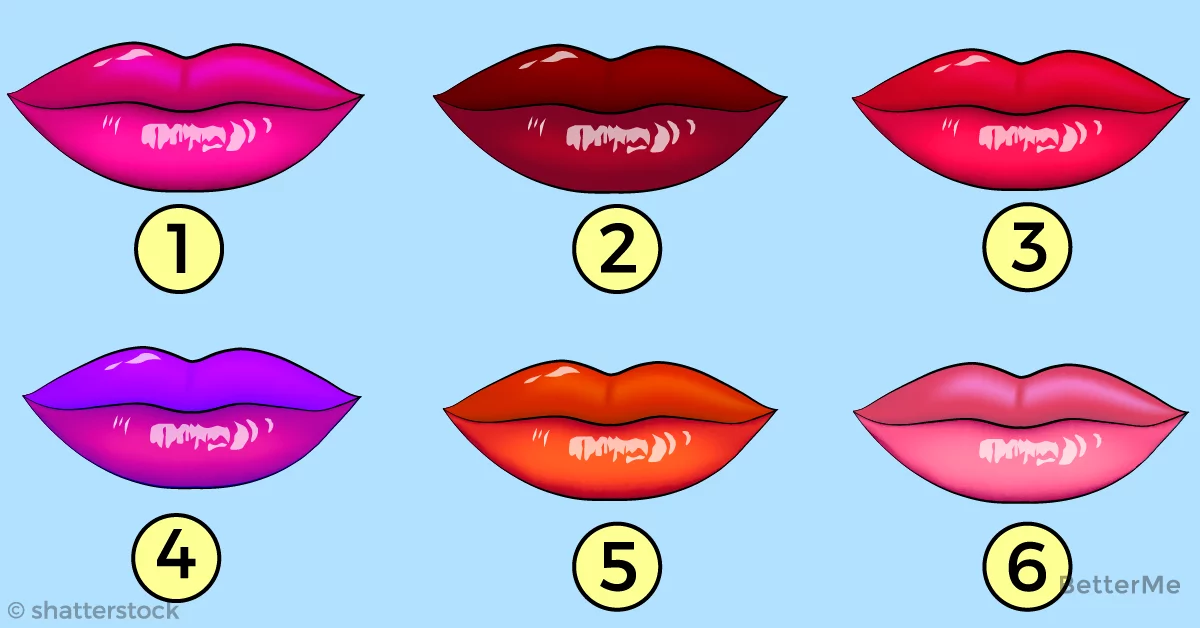 Man's instincts: what can the color of your lips say to your man