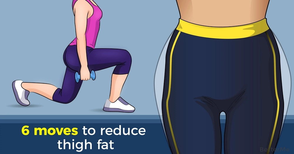 6 moves to reduce thigh fat