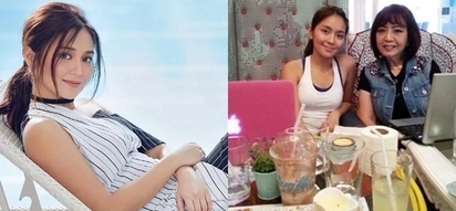 Model student Kathryn Bernardo catches up on her studies during the holidays