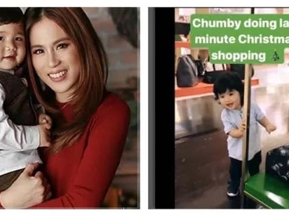 Momma and Baby bonding! Toni Gonzaga did her last minute Christmas Shopping with Baby Seve