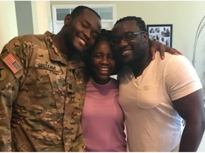 Homecoming! Returning soldier surprises family, and her mom's reaction to his return has left the internet stunned