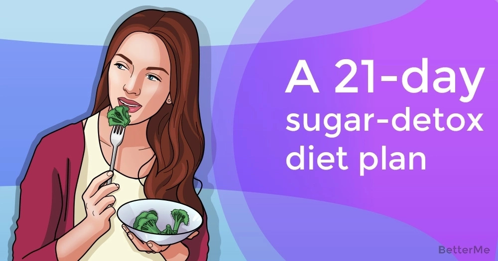 A 21-day sugar-detox diet plan to stay slim