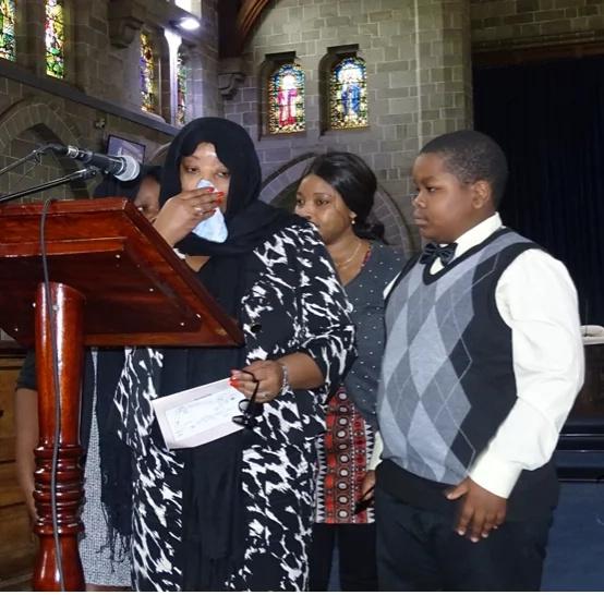 I'm not related to Jimmy Wanjigi, Jacob Juma's widow says