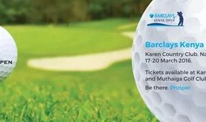 Karen golf club to host the last Barclays Kenya Open this weekend