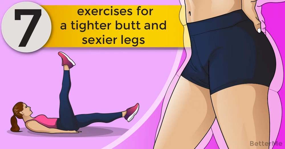 7 moves for sexier legs and a tighter butt in 1 week