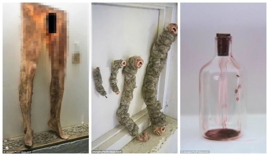 Welcome to grisly museum of witchcraft where skeletons and trousers made of HUMAN SKIN stored (photos)