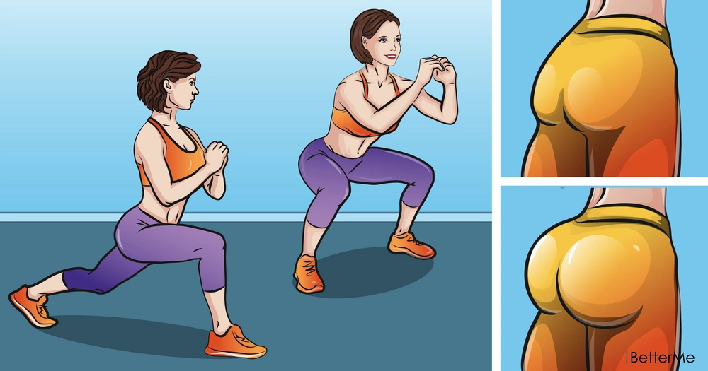 9 workout moves for the bum that can be done wherever