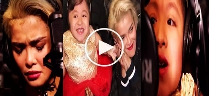 Pinay girl with disability and KZ Tandingan's powerful duet of 'Wag Ka Nang Umiyak' makes netizens cry