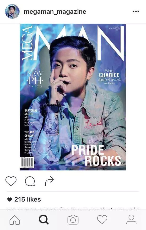 Charice Pempengco lands on men's magazine cover