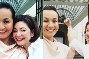 DoReMi reunion? Regine Velasquez and Mikee Cojuangco spotted hanging out