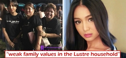 Wag kami day! Netizens slam Nadine Lustre's family values after parents and uncles support her 'live-in' principles