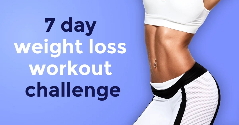 7-day weight loss workout challenge