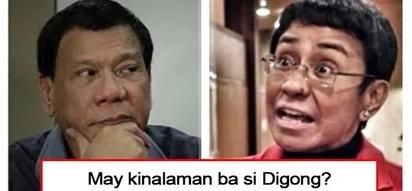 Siya ba ang may pakana? President Duterte finally breaks his silence on allegation that he ordered shut down of Rappler