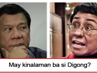 Siya ba ang may pakana? President Duterte finally breaks his silence on allegation that he ordered shut down of Rappler