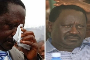 Raila will not win the 2017 General Election, upcoming politician stabs Raila on the heel