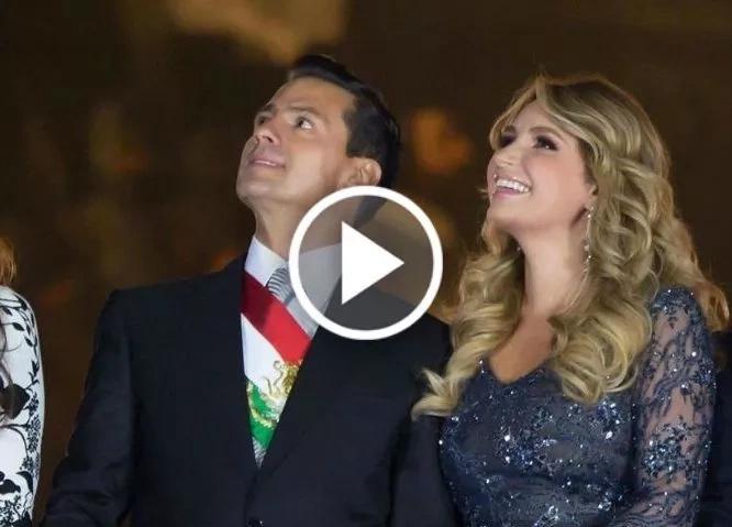 Mira cómo Peña Nieto ignoró a Angélica Rivera en la fiesta de independencia