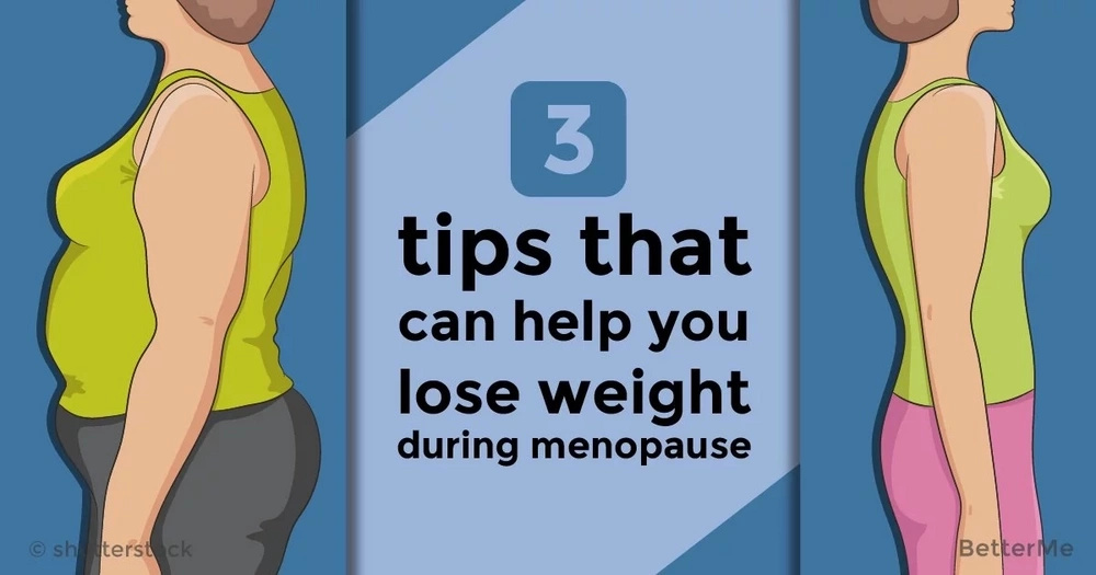 3 tips that can help you lose weight during menopause