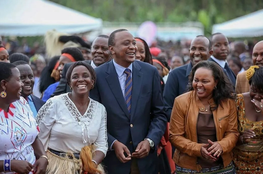 Photos that prove President Uhuru Kenyatta enjoyed working with Ann Waiguru