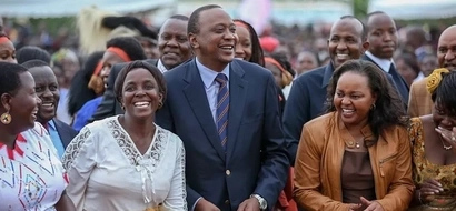 Former Devolution CS Anne Waiguru involved in car accident as she visited Uhuru (photo)