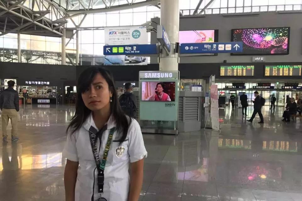 Tingnan ang isang estudyante na 'sumakay' ng tren sa Legarda ngunit nauwi sa Busan!
