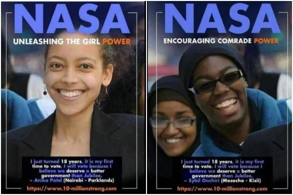 Ni bayana NASA walitumia picha bandia kuwalaghai Wakenya (Picha)