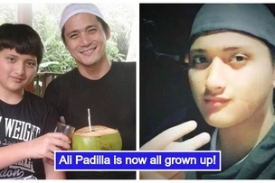 Artistahin din like Daniel Padilla! Robin Padilla's son Ali Padilla is now all grown up